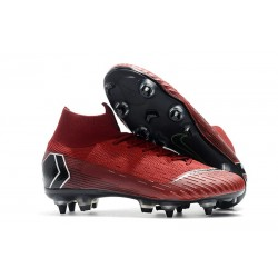 Nike Mercurial Superfly 360 Elite SG-PRO Anti-Clog Rosso Nero