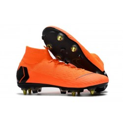 Nike Mercurial Superfly 360 Elite SG-PRO Anti-Clog Arancio Nero
