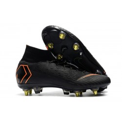 Nike Mercurial Superfly 360 Elite SG-PRO Anti-Clog Nero Arancio