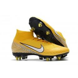 Scarpe Neymar Nike Mercurial Superfly 6 Elite SG PRO AC Giallo
