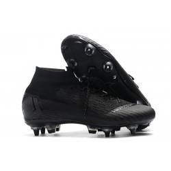 Scarpe Nike Mercurial Superfly 6 Elite SG PRO AC Nero