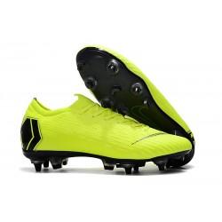 Scarpe da Calcio Nike Mercurial Vapor 12 AC SG-Pro Volt Nero