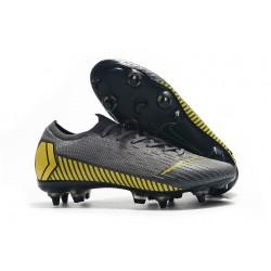 Scarpe da Calcio Nike Mercurial Vapor 12 AC SG-Pro Grigio Giallo