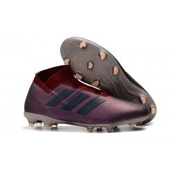 Adidas Scarpe da Calcio Nemeziz 18+ FG - Viola Rosso